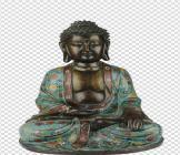 大明宣德年施铜胎掐丝优德释迦牟尼佛坐像欣赏