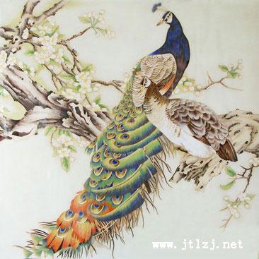 景泰蓝工艺画