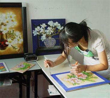 景泰蓝工艺画的简要制作流程
