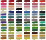 釉沙颜色的分类