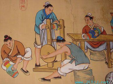 古代景泰蓝的制作过程
