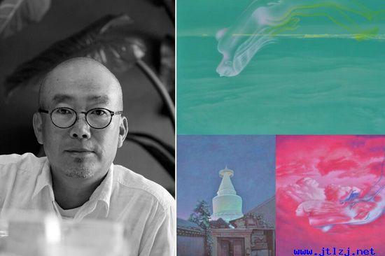 油画名家王存玉及其系列作品《梦幻》、《白塔》.jpg